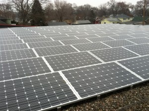 Solar Array Installed